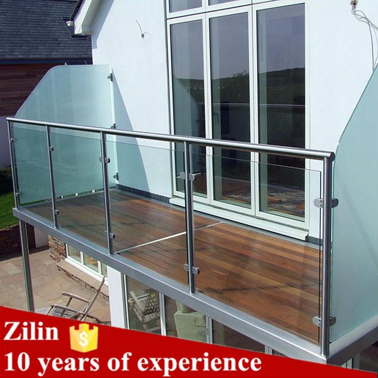 Piani di casa ringhiere in acciaio inox prezzo ringhiera di vetro corrimano scale a muro per - Corrimano in vetro per scale ...