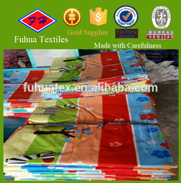 china cheap 100 polyester textile printing bed sheet fabric