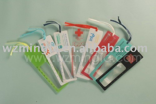 Small Bookmark Magnifier/size:141*37mm (MF201)