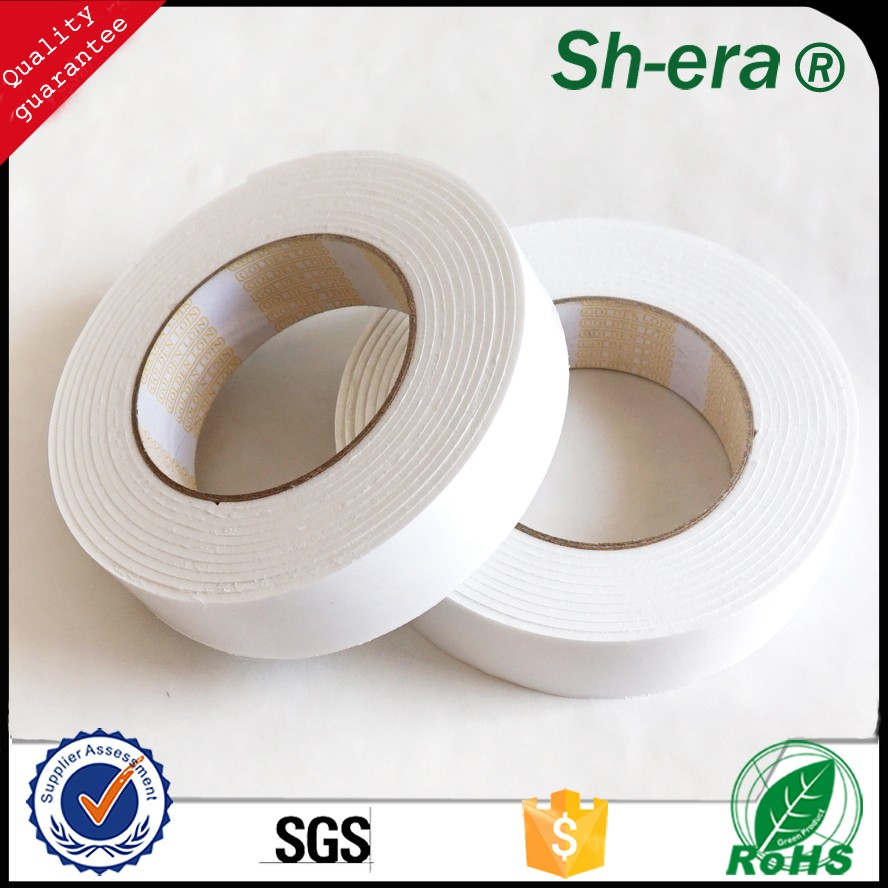 Free Samples Heavy Duty Blister card packing Mounting Mirror double sided EVA Foam Tape made in china