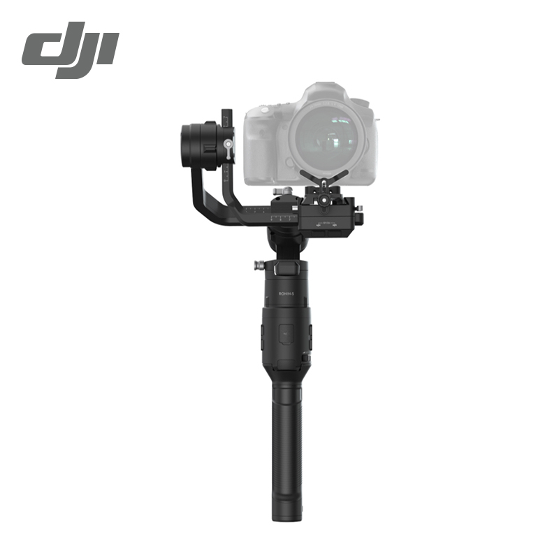 DJI Ronin S Essentials Kit Superior 3-Axis Stabilization Camera Control 3.6 kg Payload Capacity Battery Life 12hrs, Black