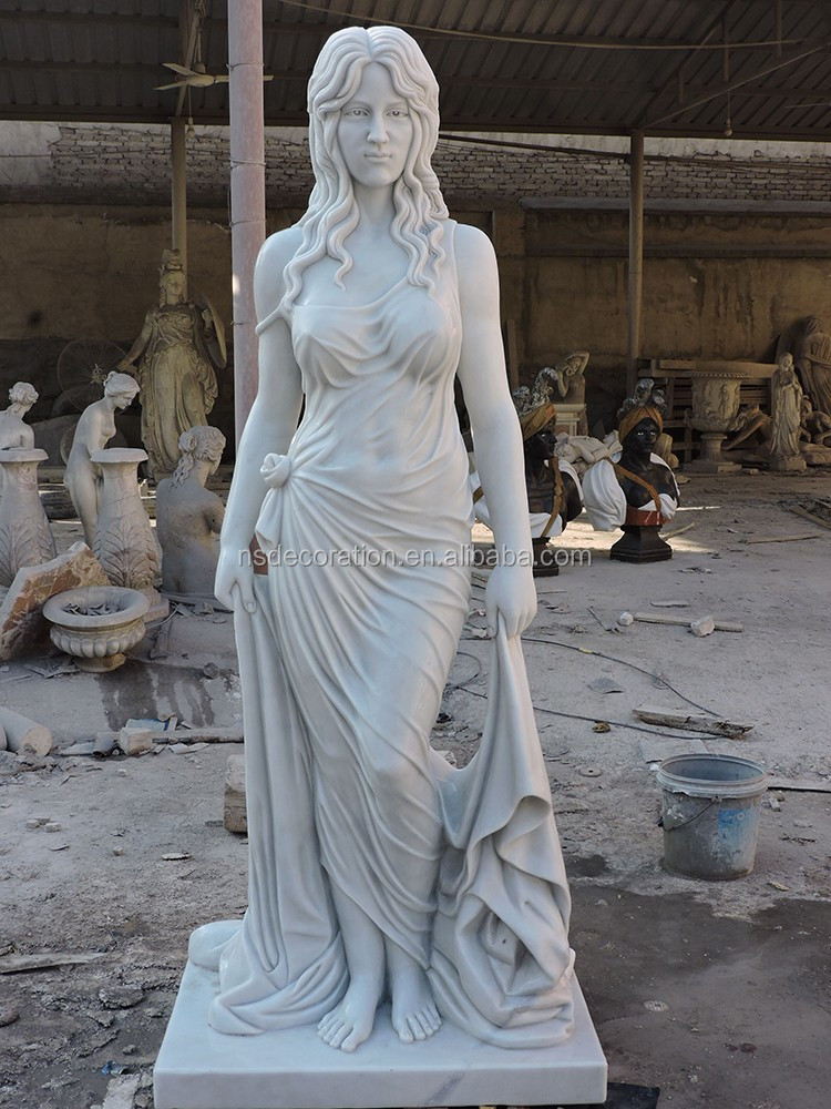 Greek Female Godness Marble Statue Sculpture Ms1901 Buy