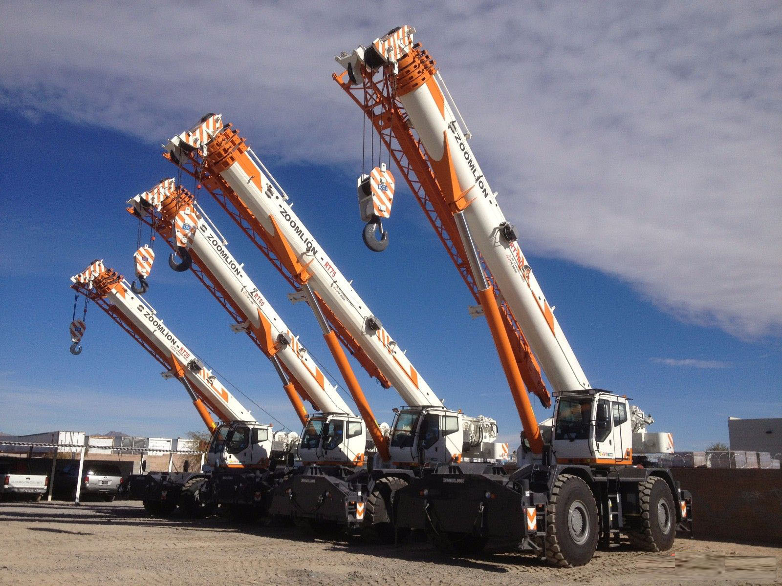 RT25 25 TON Rough Terrain Crane zoomlion mobile crane