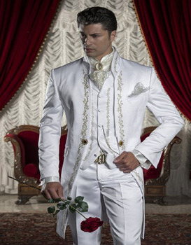 Handwork designs formal wearing customized groom wedding tuxedos handwork designs formal wearing customized groom wedding tuxedos jacketpantsvest wb061 junglespirit