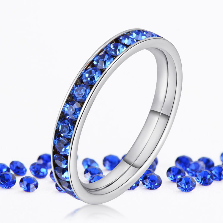 Birthstone Enement Rings | September Sapphire Birthstone Engagement Rings For Women And Men
