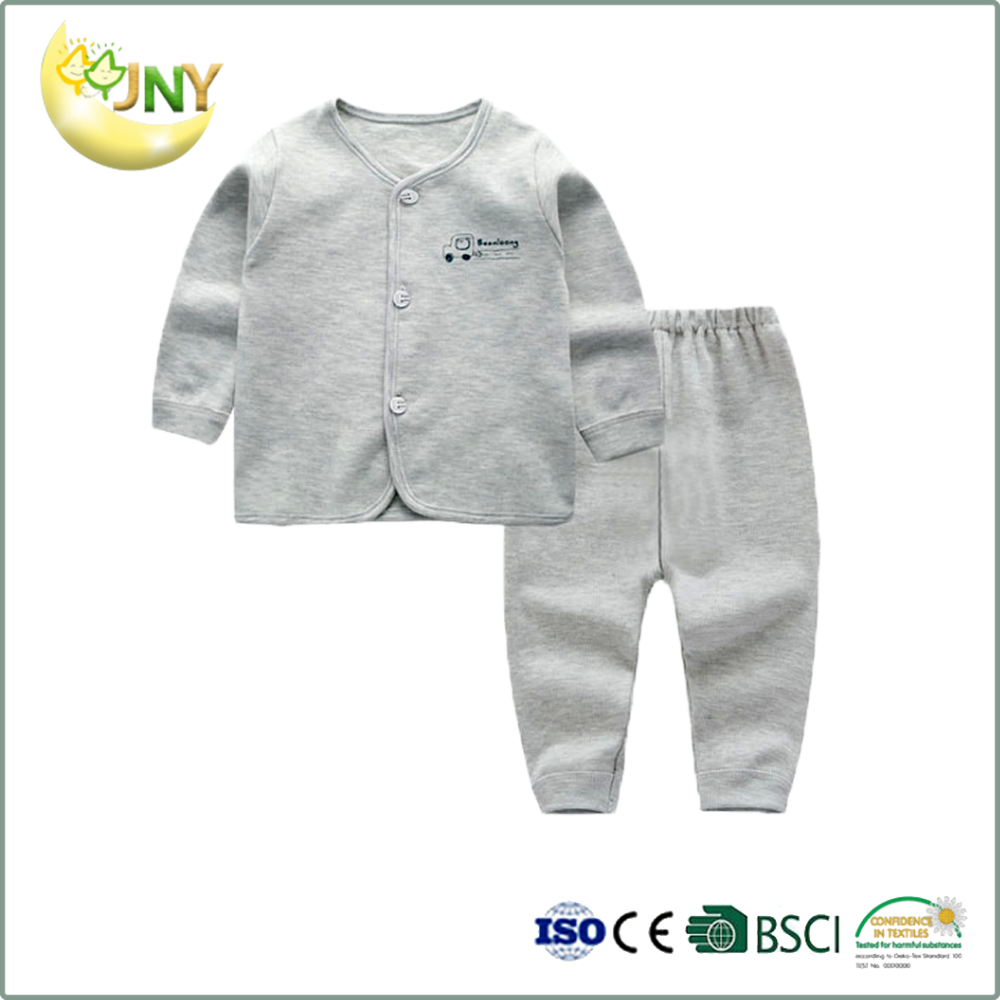 2017 Summer baby toddler wear clothes set long sleeve cotton kids clothes baby pyjamas