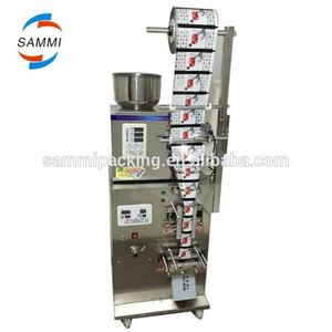 SM-FZ-70A automatic stainless steel back sealing bag tea stick filling machine, tea stick packing machine