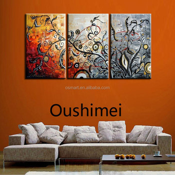 Top Artist Pure Hand-painted High Quality Modern Abstract Flower Oil  Painting On Canvas Handmade Abstract Tree Oil Painting - Buy Abstract Tree  Oil