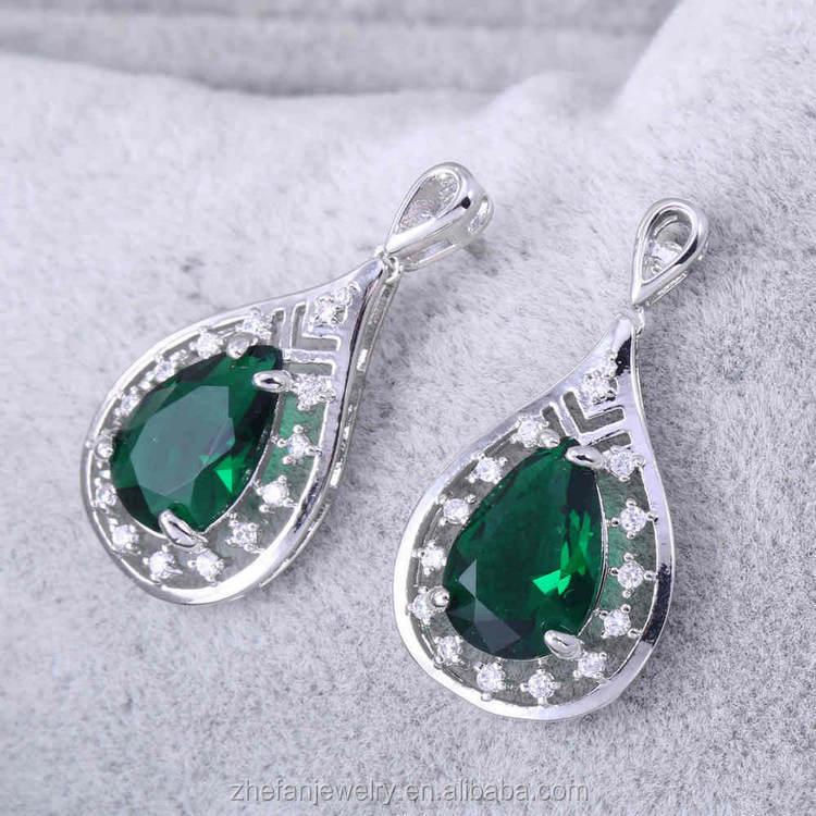 Jaipur Lakh bijoux bijoux tendance pas cher cristal 925 or boucles d'oreilles vintage