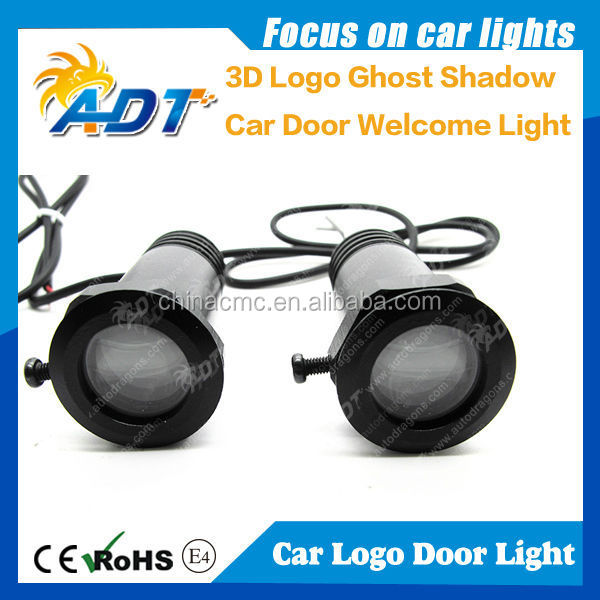 LED PROJECTION 3D LOGO GHOST SHADOW CAR DOOR WELCOME LIGHT