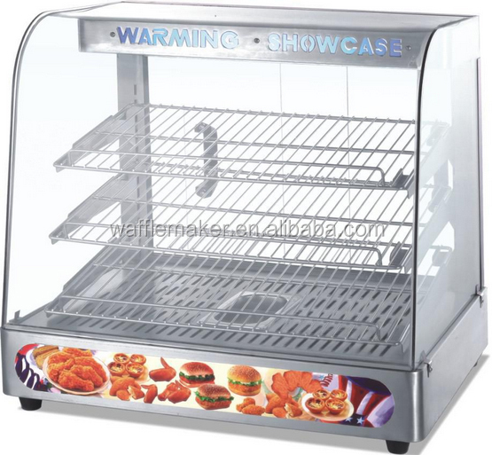 Egg tart warming showcase for sale tart display