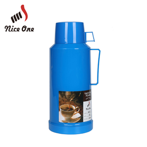 Nice One. Plaid Small Best Blue Thermos Insulated Bottle Flask To Keep Water Hot Double Wall