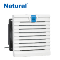 Cabinet Ventilation Fan with Filter, High Efficiency Panel Fan Filter