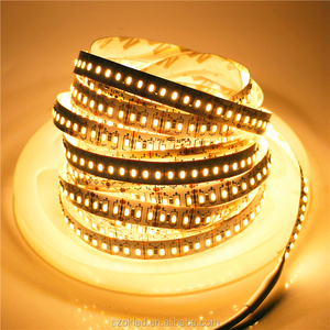 SMD 3014 204leds/m LED Strip 5m 12V LED Diode Tape Waterproof LED Ribbon Lamp 12w/m LED String Rope W/WW/R/B Flexible LED Light