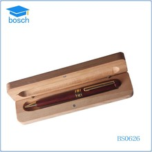 Promotional Gift Logo Eco Wooden Ball Pen Wood Pen Set Fancy Pen Set