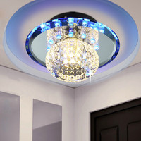 High quality wholesale corridor lamp porch light crystal ceiling lamp