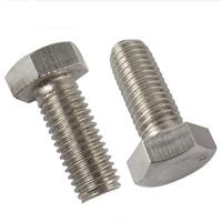 Wanmao Stainless steel hex head bolt with nuts