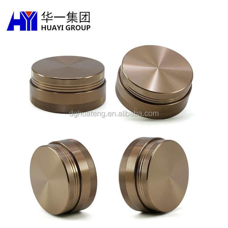 OEM fashion aluminum weed grinder with customized logo and design service