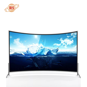 75 inch LED LCD Television Smart Curved Screen TV 4K China Factory