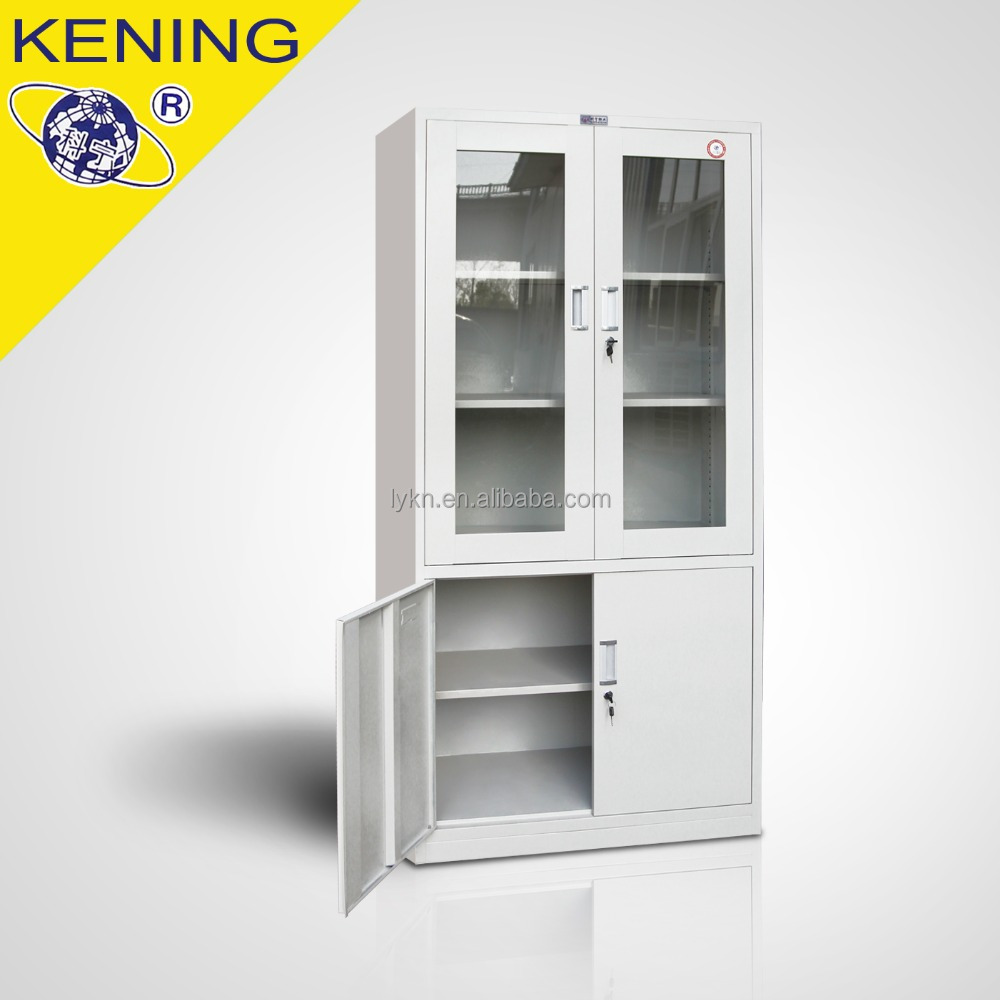Steel office furniture metal A4 filing <strong>cabinets</strong> with 4 doors