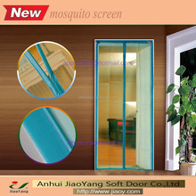 100% polyester magnetic mosquito screen door net