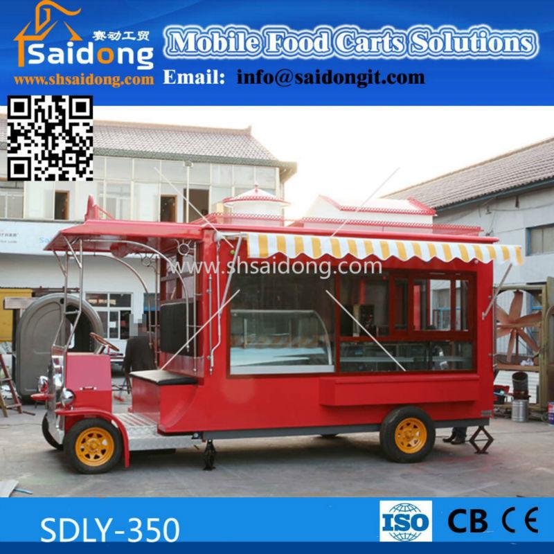 06d2814545 Hot Sale best quality vintage style food vending cart-Mobile Kitchen Truck- Food  Van