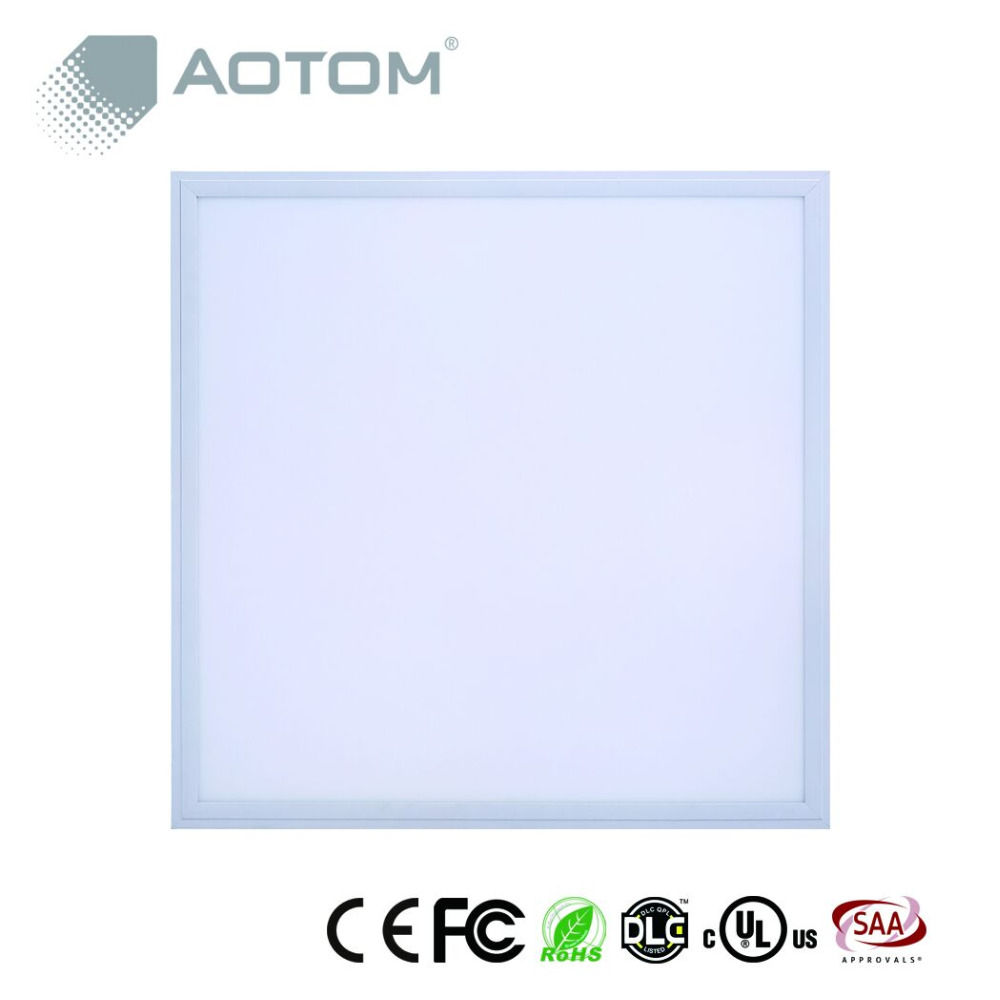 AOTOM slim LED panel light with UL DLC FCC certificate 2x2' 40W stock in USA for promotion!!!