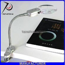 high quality Clip magnifying glass with light