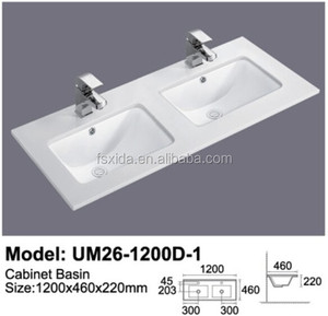under mounted phoenix stone top wash hand basin double sinks