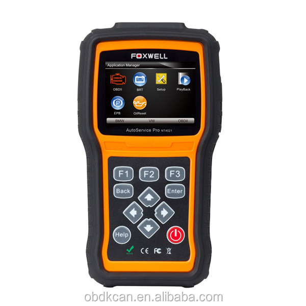Foxwell NT4021 AutoService Tool including Oil Light Reset/EPB Service/Battery Configuration Auto Diagnostic Tool