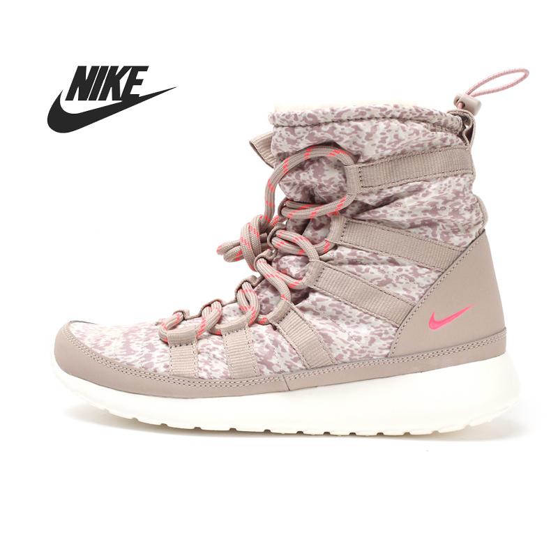 Nike W ROSHERUN привет SNEAKRBOOT принт женщины в скейтбординг обувь 616724 - 006 высокая - верхний кроссовки