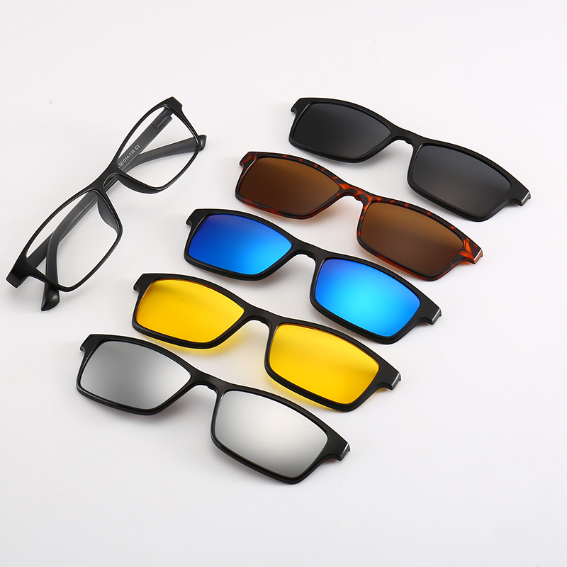 b62b85813d Magnet Clip Flip Up Polarized Sunglasses Women Men Magnetic Clip On  Sunglasses