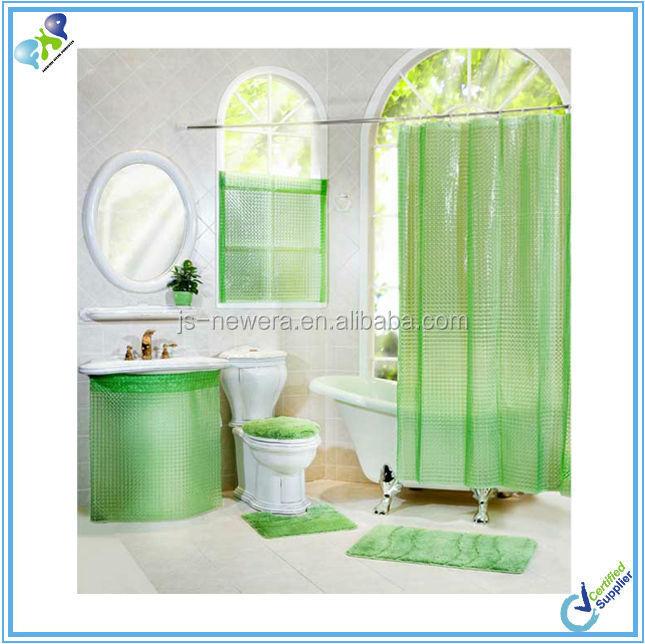 Waterproof Bathroom Window Curtains Whole Suppliers Alibaba