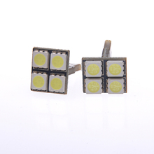 T10 5050 smd 4 led can バス smd 192 168 194 W5W ホワイト/ブルー/レッド/グリーン/イエロー /ピンク LED 側ライトウェッジ電球