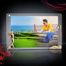 """Apple <span class=keywords><strong>Ipad</strong></span> forme"" cadre en métal cadre photo golf plaques"