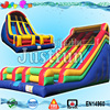 22ft dual lane color customized giant inflatable slide for kids n adults