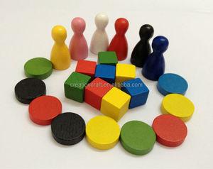 board games wooden token