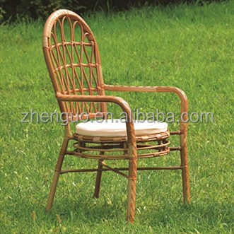 outdoor iron wood unfold chair outdoor garden rattan furniture sets
