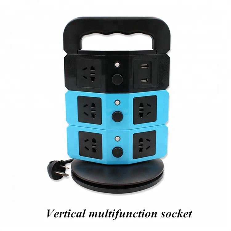 Colorful best buy power electric Intelligent usb plug converter extension socket