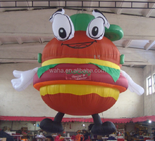 10ft cute hamburger inflatable event/party/advertising/promotional/decoration inflatable replica/model/figure/character W883