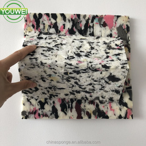 Customized Size Rebonded Foam Top Quality Recycled Sponge Sheet