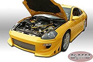 Mitsubishi Eclipse Blits Style 4 Piece Polyurethane Full Body Kit 00-05