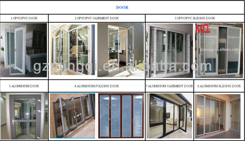Wooden Color Grill Design Pvc Sliding Window With Mosquito