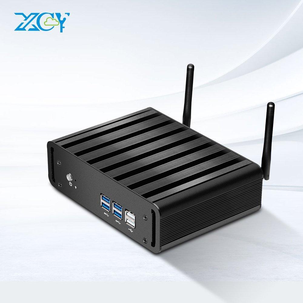 2016 Newest Mini PC Windows10 Intel Core i5 Fanless TV Box Desktop Computer (8G DDR3 RAM 500GB HDD, Intel Core i5 4200U)