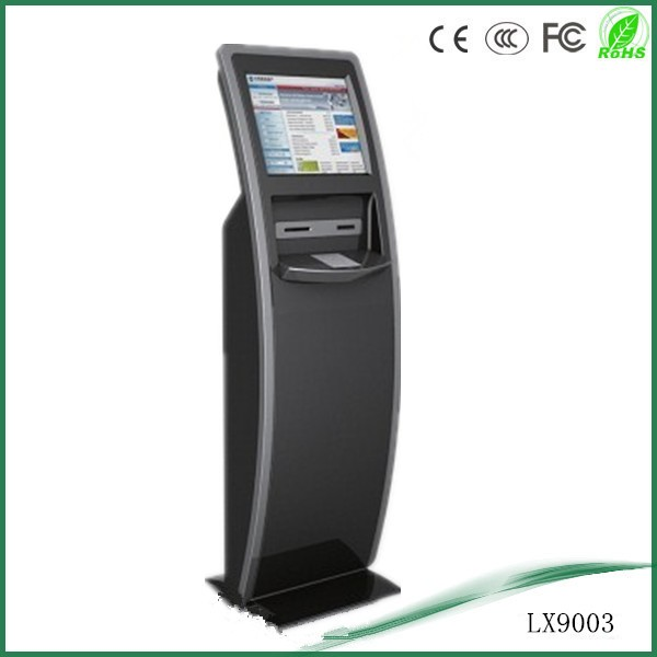 windows os floor standing payment kiosk with multi functions exhibition booth stands in other trade show equipment