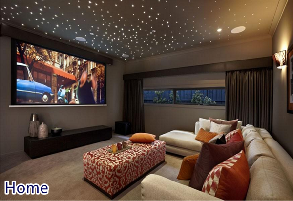 Auto a casa tetto cinema camera da letto illuminazione a soffitto