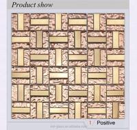 Good design glass tile slate wall for promotion