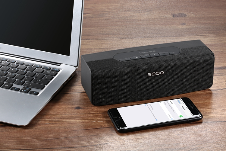 SODO L2 wireless portable Bluetooth speaker for mobile phone use goodbass