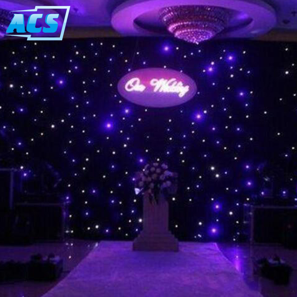Starcloth, Star cloth, Curtain, Backdrop, Multi LED, DJ