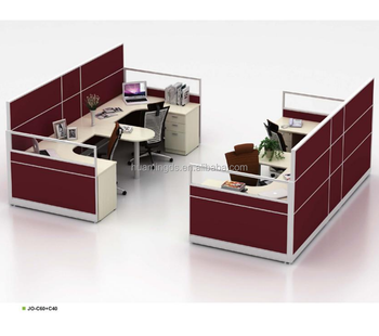 Customized Cubicles Office Furniture Office Desk For 2 People